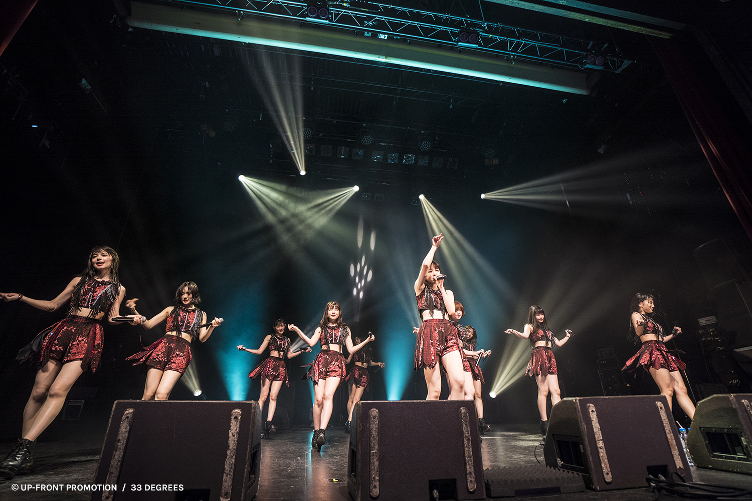 Bonjour Idol ANGERME La Cigale Paris 33 Degrees Photo