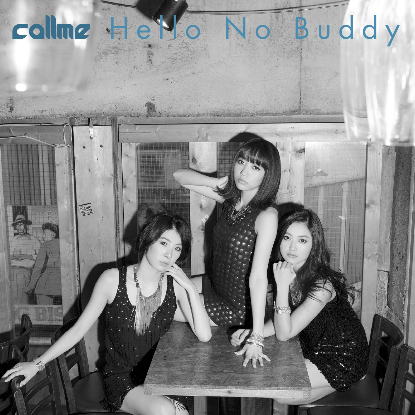 Bonjour Idol callme Hello no Buddy single cover