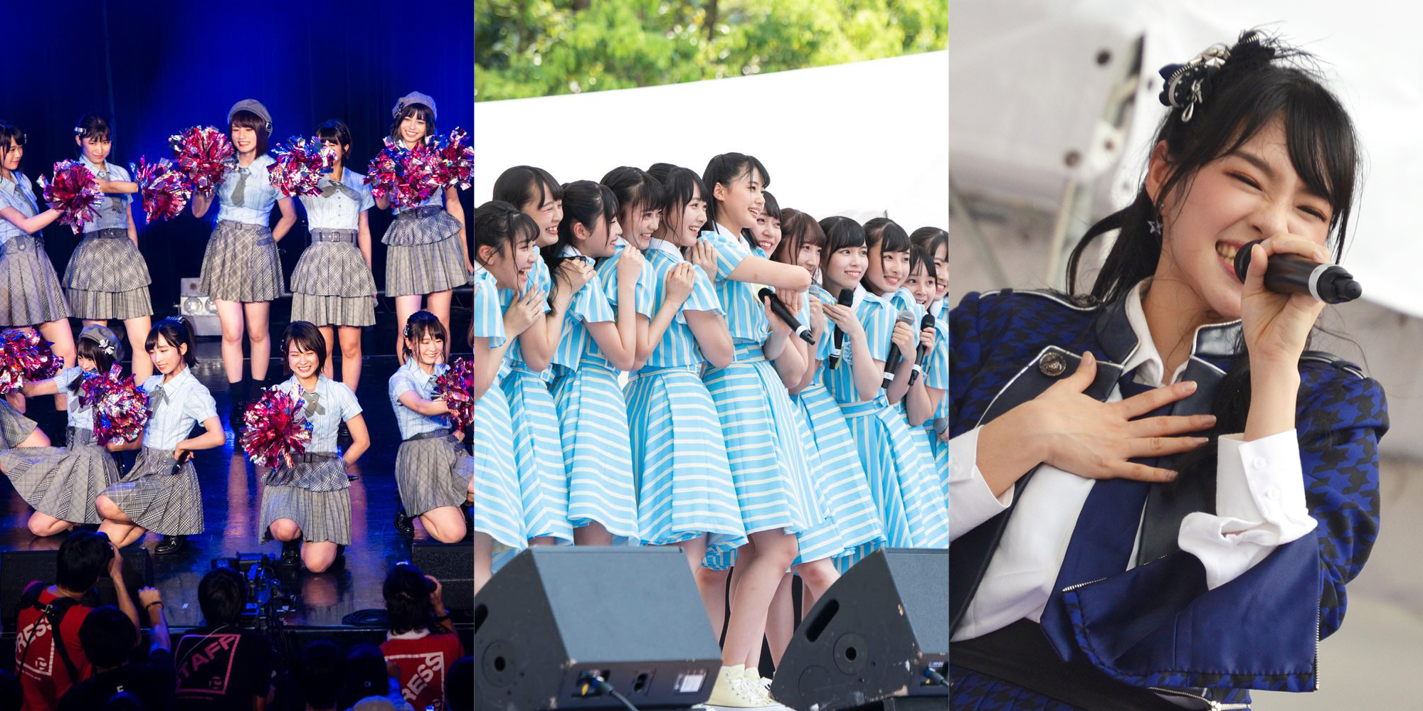 Tif2018 akb48 team 8 stu48 and bnk48 showed their fresh styles tokyo idol festival 2018 akb48 team 8 stu48 and bnk48 charmed their way to the stage thecheapjerseys Gallery