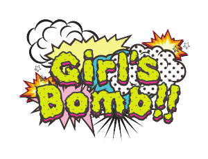 Girl's Bomb!! Event Logo